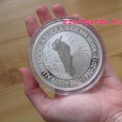 Kookaburra 2015 10 uncia ezüst pénzérme