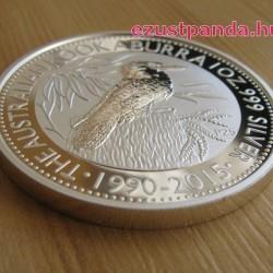 Kookaburra 2015 1 uncia ezüst pénzérme