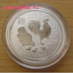 Lunar2 Kakas éve 2017 1/2 uncia ezüst pénzérme