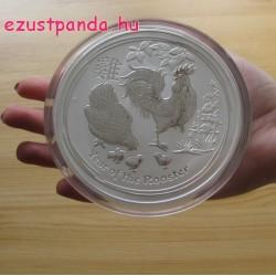 Lunar2 Kakas éve 2017 1 kilogramm ezüst pénzérme