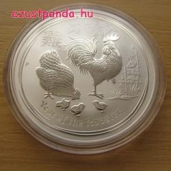 Lunar2 Kakas éve 2017 1 uncia ezüst pénzérme