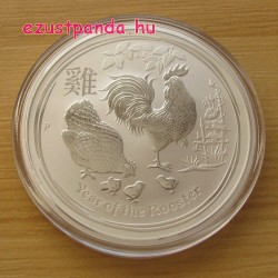 Lunar2 Kakas éve 2017 2 uncia ezüst pénzérme