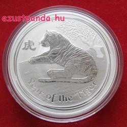Lunar2 Tigris éve 2010 1 uncia ezüst pénzérme