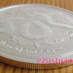 Lunar2 Kígyó éve 2013 1/2 uncia ezüst pénzérme
