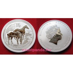 Lunar2 Ló éve 2014 1/2 uncia ezüst pénzérme
