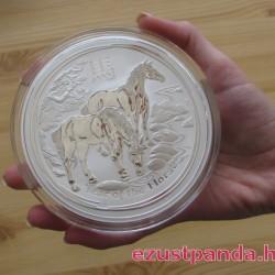 Lunar2 Ló éve 2014 1 kilogramm ezüst pénzérme