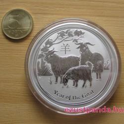 Lunar2 Kecske éve 2015 2 uncia ezüst pénzérme