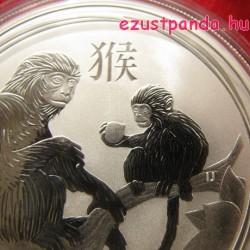 Lunar2 Majom éve 2016 1 uncia ezüst pénzérme