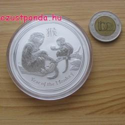 Lunar2 Majom éve 2016 2 uncia ezüst pénzérme