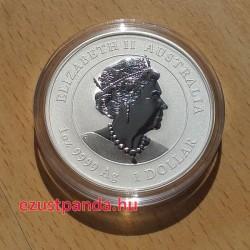 Lunar3 Egér éve 2020 1 uncia színezett ezüst pénzérme