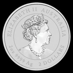 Lunar3 Egér éve 2020 2 uncia ezüst pénzérme