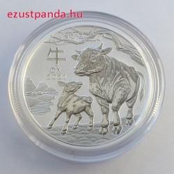 Lunar3 Bivaly éve 2021 1/2 uncia ezüst pénzérme