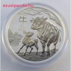 Lunar3 Bivaly éve 2021 1 uncia ezüst pénzérme