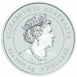 Lunar3 Bivaly éve 2021 2 uncia ezüst pénzérme