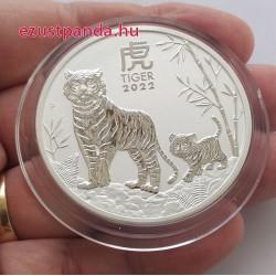 Lunar3 Tigris éve 2022 2 uncia ezüst pénzérme