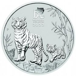 Lunar3 Tigris éve 2022 1/2 uncia ezüst pénzérme