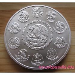 Libertad 2019 mexikói 5 uncia ezüst pénzérme