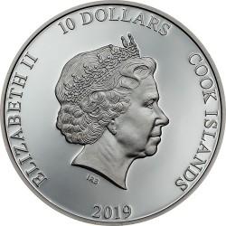 Horgony - Jó szelet! 2019 2 uncia proof ezüst pénzérme