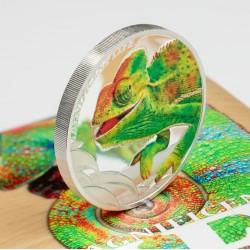 Kaméleon 2020 proof ezüst pénzérme