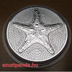 Tengeri csillag 2019 1 uncia ezüst pénzérme Cook-szigetek