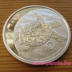 Taku teknős Fidzsi szigetek 2013 1/2 uncia ezüst pénzérme