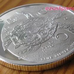 Taku teknős Fidzsi szigetek 2013 1 uncia ezüst pénzérme