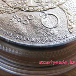 Taku cserepesteknős Fidzsi szigetek 2016 2 uncia ezüst pénzérme