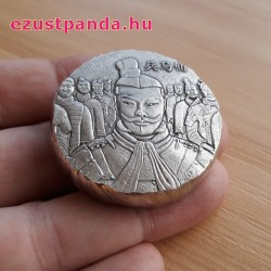 Agyaghadsereg 2018 5 uncia antikolt ezüst pénzérme