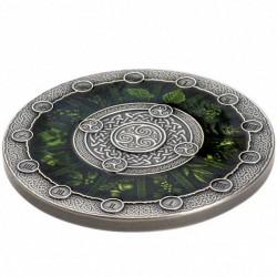 Kelta naptár 2020 2 uncia antikolt ezüst pénzérme