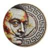 Salvador Dalí mozaik 2021 2 uncia ezüst pénzérme