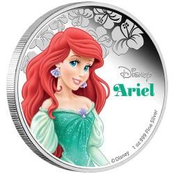 Disney Ariel / A kis hableány 2015 1 uncia proof ezüst pénzérme