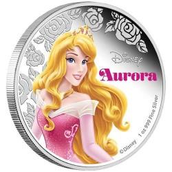 Disney Aurora / Csipkerózsika 2015 1 uncia proof ezüst pénzérme