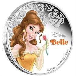 Disney Belle / A Szépség és a Szörnyeteg 2015 1 uncia proof ezüst pénzérme