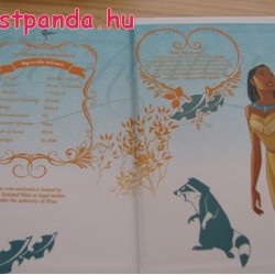 Disney Pocahontas 2016 1 uncia proof ezüst pénzérme