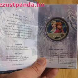 Disney Jégvarázs - Elsa és Anna 2016 1 uncia proof ezüst pénzérme
