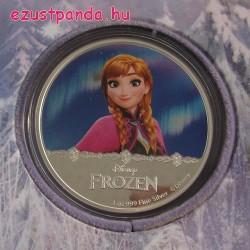 Disney Jégvarázs - Anna 2016 1 uncia proof ezüst pénzérme