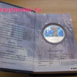 Disney Jégvarázs - Elsa 2016 1 uncia proof ezüst pénzérme