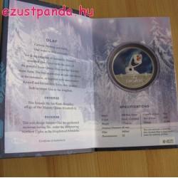 Disney Jégvarázs - Olaf 2016 1 uncia proof ezüst pénzérme