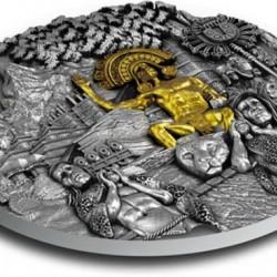 El Dorado - Az aranykirály Niue 2020 2 uncia ezüst pénzérme