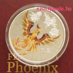 Feng Shui Főnix - Niue 2015 1 uncia proof ezüst pénzérme