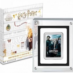 Harry Potter filmek - A félvér herceg Niue 2021 1 uncia proof ezüst pénzérme