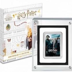 Harry Potter filmek - A tűz serlege Niue 2020 1 uncia proof ezüst pénzérme