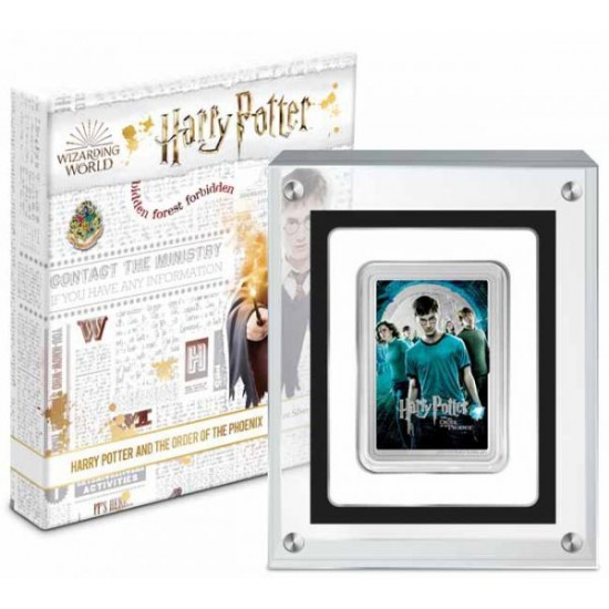 Harry Potter filmek - A főnix rendje Niue 2021 1 uncia proof ezüst pénzérme