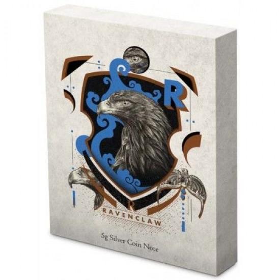 Harry Potter - Roxfort Házak HOLLÓHÁT 5 gramm színezüst fólia bankjegy érme Niue-sziget 2020