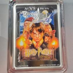 Harry Potter filmek - A Bölcsek köve Niue 2020 1 uncia proof ezüst pénzérme