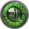 Zöld mamba kígyószem 2021 1/2 uncia ezüst pénzérme