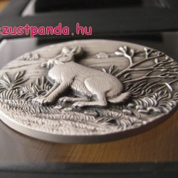 Havasi nyúl - Niue 2015 1 uncia ultra-high relief ezüst pénzérme