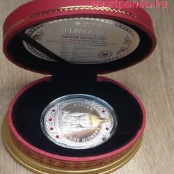 """Fabergé """"Moszkvai Kremlin"""" tojás 2013 Niue 56 gramm ezüst pénzérme"""