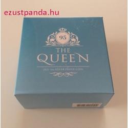 II. Erzsébet királynő 95 éves Niue 2021 1 uncia proof ezüst pénzérme