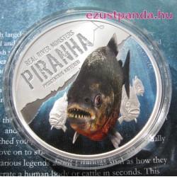 Piranha - Niue 2013 1 uncia ezüst pénzérme